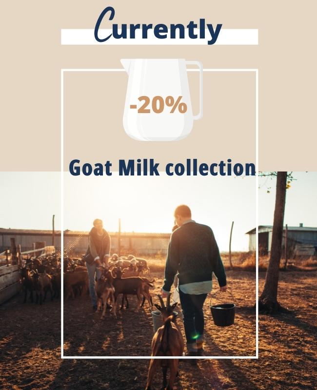 Goat Milk promotion - DruideBio